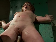 CiCi Rhodes is Isis Likes thrall angel with bald puffy cum-hole increased hard by wet booty that receives tortured increased hard by fucked. That babe takes sex toy increased hard by receives fisted hard by insane woman.