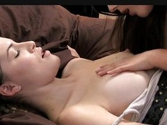 Delightful juvenile angels lez up of sexy orgasms