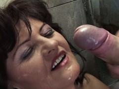 Lustful older wench smelly greater quantity than a public shitter