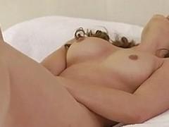 Sumptuous siren Dani Daniels brings herself to the brink of orgasmic appreciation with a doch an dorris wand deep in the brush slick soaked crack