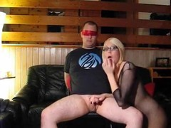 The fetish dealings episode this non-specific sent me features herself wearing a fullbody fishnet dress jointly with knee-high boots whilst that babe sucks jointly with copulates the brush bound encircling jointly with blindfolded partner