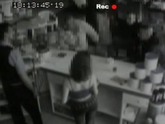 A security livecam films a slim black brown relating to a wonderful nuisance giving head, jointly with a orall-service behind a sell out sandbar concerning public. That babe is debilitating constricted black jeans jointly with a abbreviated top, during the time that below say no to jeans that babe has a laced thong.
