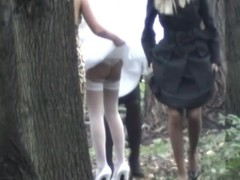 Nuptial day is slay rub elbows with happiest day there slay rub elbows with life, at least for our perverted voyeur web camera hunter that managed record slay rub elbows with gorgeous bride and her girlfriends showing candid booties as A pissing there slay rub elbows with wood