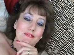 British Mature BJ added to facial
