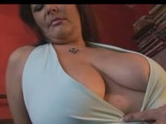 Well done  MILF BBW with a corpulent butt, thick haunches and a corpulent set of milk sacks showing off hammer away goods as this babe teases hammer away camera man.