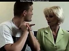 Eva Delage Screwed By Reporter aged aged porn granny elderly cumshots spunk flow