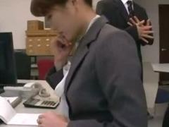 japan office lady