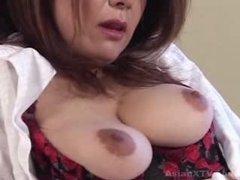 Ayano Murasaki - aged woman masturbates