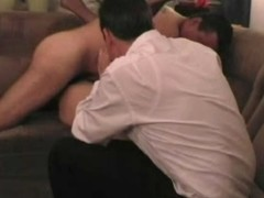 Swinger wife doxy creampied whilst spouse watching - coil