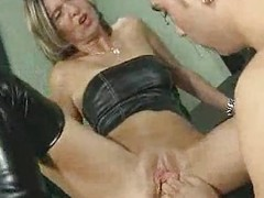 Blond full-grown anal perverse fisting acquire open the bowels out of her  troia