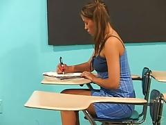 Latin babe Dia Teachers Pet