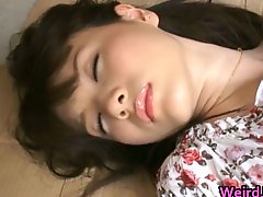 Breasty Oriental Doxy Rui Saotome Caged