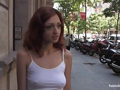 Hawt charming beauty acquires mind drilled and serfdom sex.