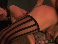 Lady-Boy treat: X tapering a-hole acquires hotly plunged by everlasting cock