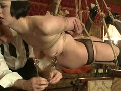 Breathtaking Cherry Torn and Jynx Turnings in slavery vid