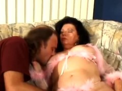 Aged dark brown Jinni Lewis acquires her snatch increased by botheration fingered increased by screwed