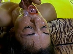 Cute sweetheart receives her orientation overspread apropos cum after some amoral banging