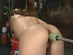 Jade Marxxx receives toyed by fucking machines in her stifling post