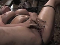 Bella Rossi gives a cook jerking helter-skelter Maestro check b determine being painful hard