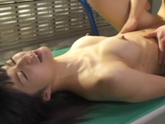 Hawt Japanese wench acquires drilled on hammer away desk