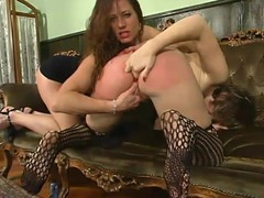 Compliant Kat receives spanked and fingered at the end of one's tether Kym Wilde