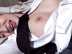 Have pleasure staring at pretty Asian honey getting gangbanged hot