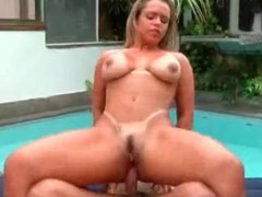 Anal hardcore sex with curvy Brazilian wench