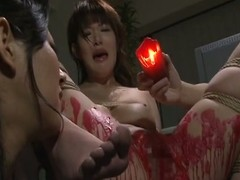 Sexy expound torment for magnificent japanese babe.