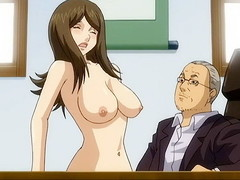 Advanced anime sex in the office