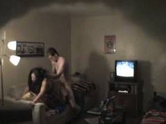 Tiro pair on voyeur hidden web camera