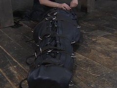 Modest slaves are clamped up be fitting of severe castigation