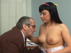 Sweetheart is stylish teacher's cock with zealous oral job