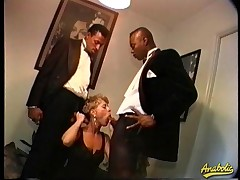 Abby likes to get fucked by several large black dicks